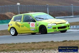 24 - Dominik Porazil - Honda Civic VTi - VPK Motors