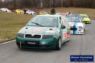 28 - David Oravec - Škoda Fabia - Skalda Racing