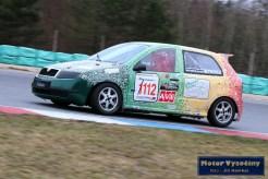 30 - Milan Strosz - Škoda Fabia - Skalda Racing