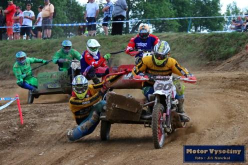 60 - MMČR Sidecarcrossu a quadu - Dalečín 2.6.2018