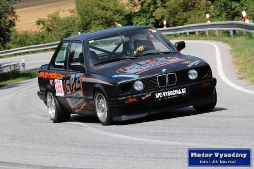 22 - Homola Tomáš - SPZ Vysočina - BMW E30