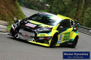 12 - Marek Rybníček - Ford Fiesta WRC EVO