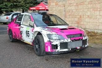 23 - Brahoslav Šubert - Mitsubishi Lancer WRC5