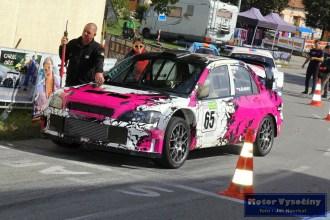 04 - Drahoslav Šubert - Mitshubishi Lancer WRC 05- Diváky 2018