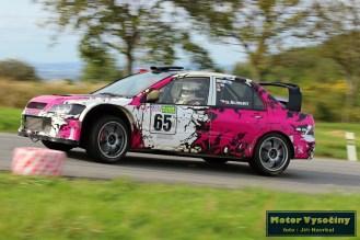 35 - Drahoslav Šubert - Mitshubishi Lancer WRC 05- Diváky 2018