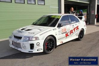 15 - Fillová Kristýna - Mitsubishi MaLancer EVO IV- IV. RACE CAR SHOW MREC - Brno - 21.10.2018