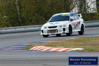 24 - Fillová Kristýna - Mitsubishi MaLancer EVO IV- IV. RACE CAR SHOW MREC - Brno - 21.10.2018