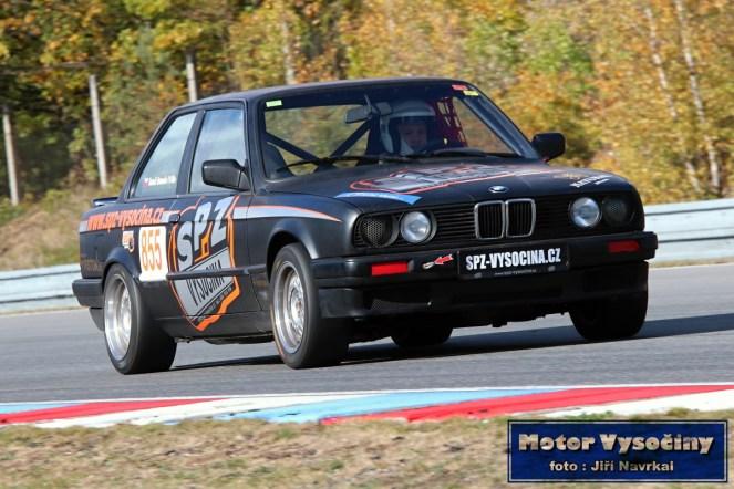 34 - Homola Tomáš - BMW E30- IV. RACE CAR SHOW MREC - Brno - 21.10.2018