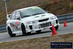 38 - Fillová Kristýna - Mitsubishi MaLancer EVO IV- IV. RACE CAR SHOW MREC - Brno - 21.10.2018