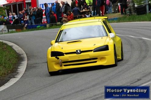 Martin Hort - Peugeot - Zámecký vrch 2019