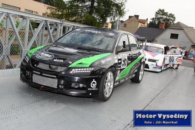 12 - Kristýna Fillová - Mitsubishi Lancer EVO Black