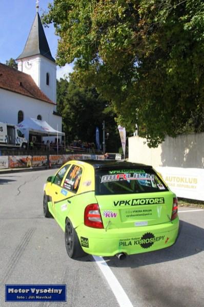 16 - Kašpar Vilém - Škoda Fabia RS- Diváky 2019