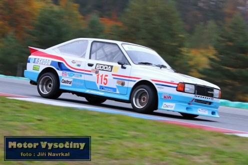 33 - Krejčí Bohuslav - Škoda Rapid LRH - GMS Race Car show - Automotodrom Brno - 19.10.2019
