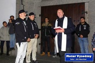 Slavnostní odjezd na Dakarr 2020 posádky Tomáš Ouředníček s Davidem Křípalem - Velké Meziříčí 30.11.2019 - 14
