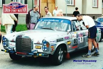 05 - St. č. 11 Clay Regazzoni Švýcarsko – Franco Pipino Itálie, Mercedes-Benz 300 SL - London-Sydney Marathon 2000