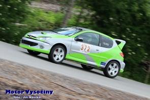 20 - Kostelecký Radek - Peugeut 206 GT - S1-2000 - Vírské serpentiny 2021