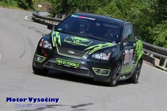 51 - Hury Radek - Ford Focus ST - S1+2000 2WD - Vírské serpentiny 2021