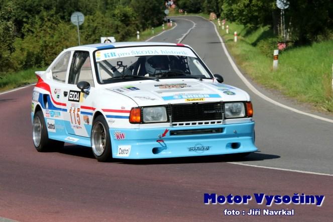 13 - Krajčí Bohuslav - Škoda Rapid 130 RH - E1-1600