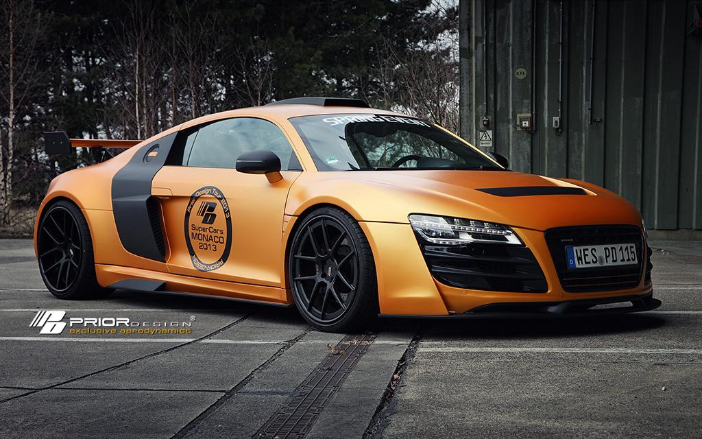 Gallery Prior Design Audi R8 GT850 In Matte Orange