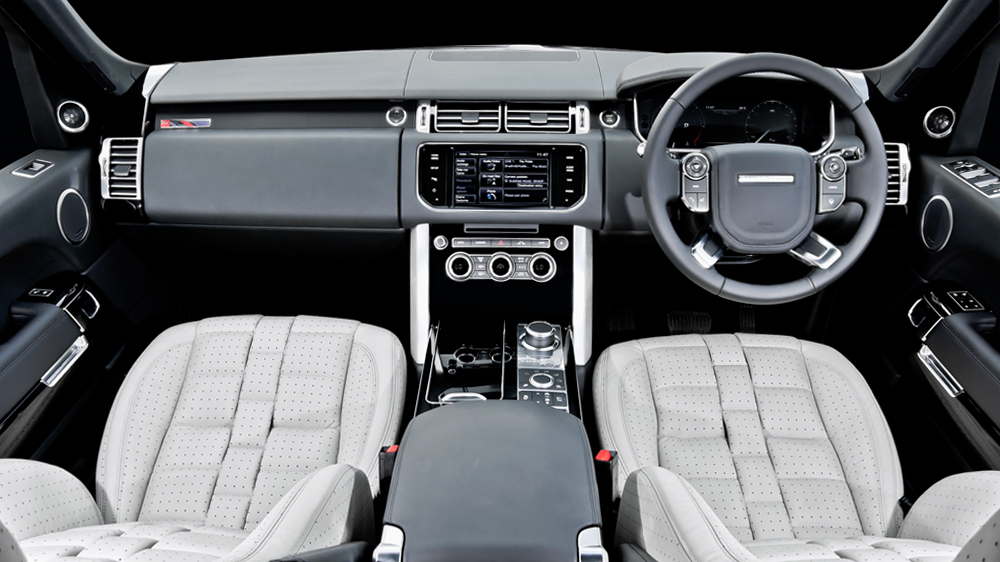 Kahns New Interior Package For 2013 Range Rover Vogue