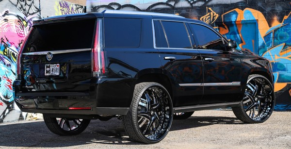 Cadillac Escalade On 30 Inch Forgiato Wheels
