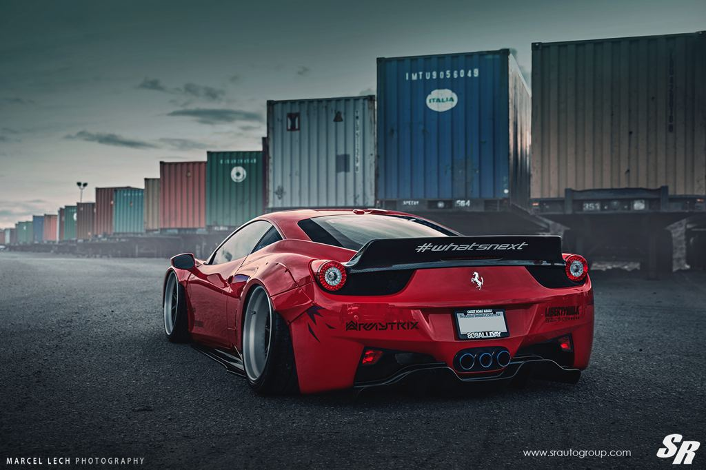 Liberty Walk Ferrari 458 F7LTHY By SR Auto