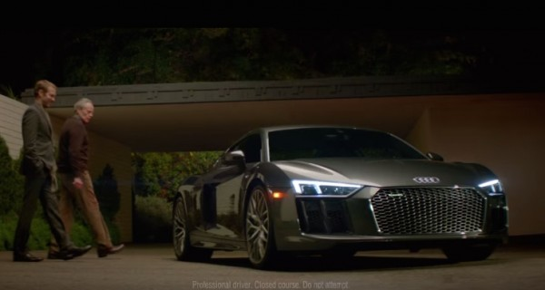 Audi R8 Super Bowl Ad Features David Bowie's Starman