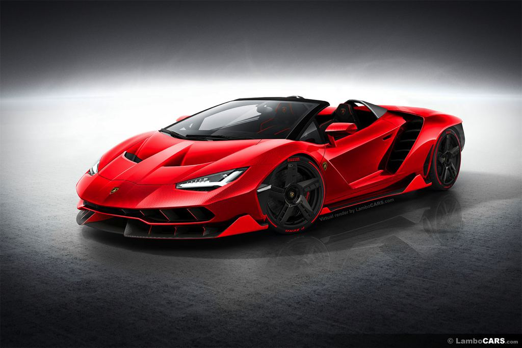 This Is What Lamborghini Centenario Roadster Should Look Like