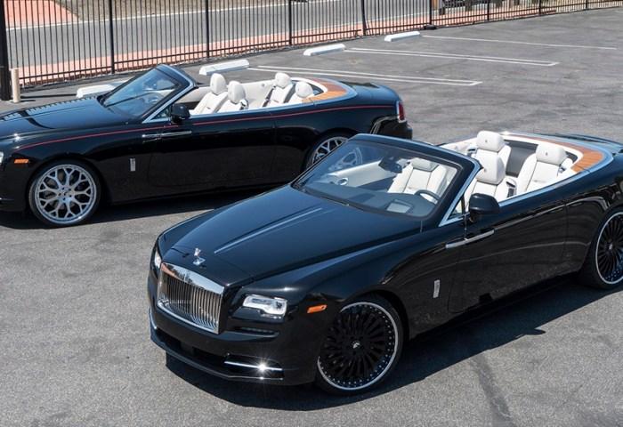 Rolls Royce Dawn Twins On Forgiato Wheels