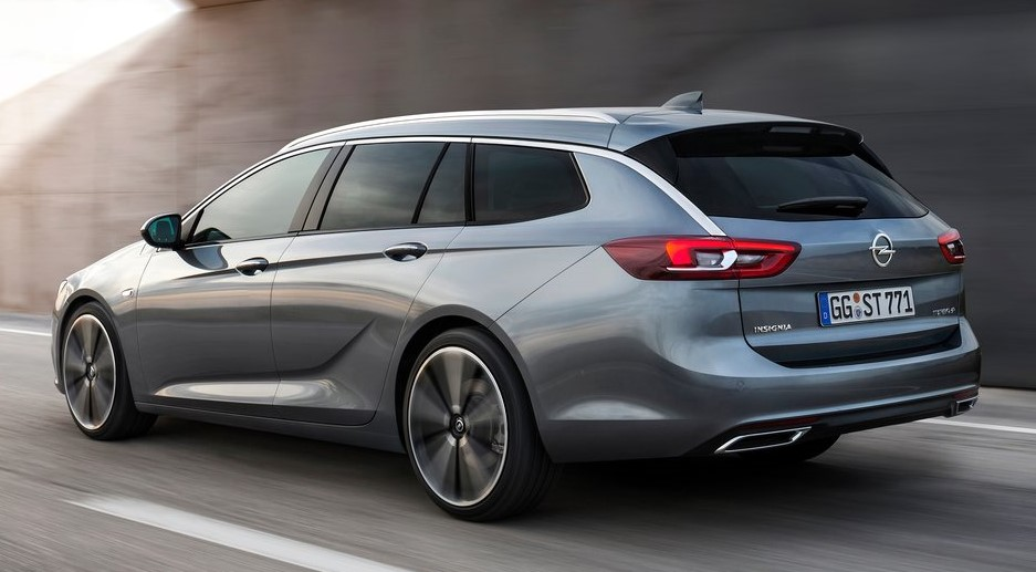 Official 2018 Opel Insignia Sports Tourer
