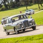 Mercedes-Benz realizará una caravana con vehículos de todas las épocas
