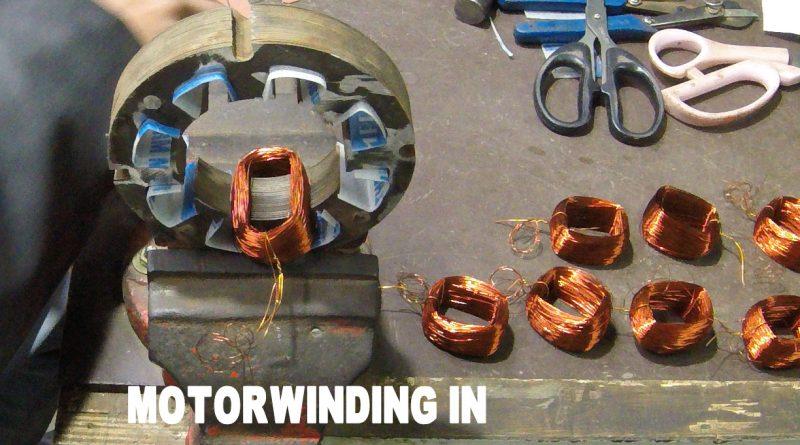 exhaust fan motor winding data in hindi
