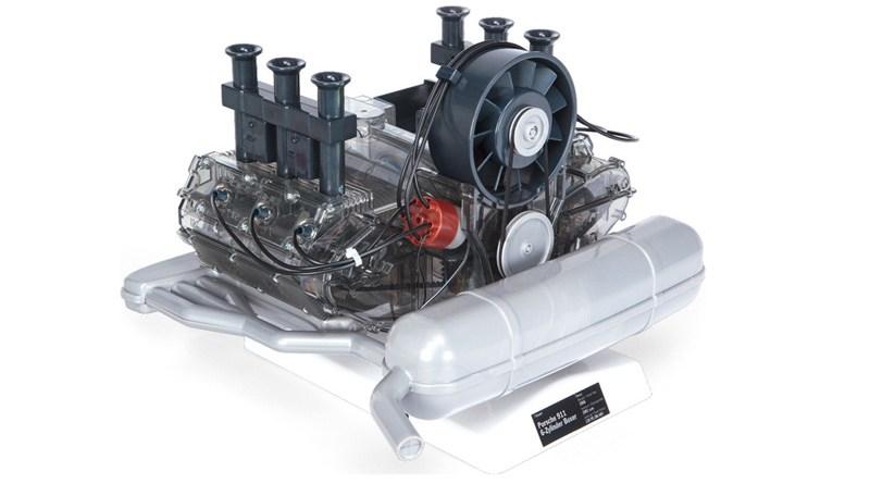 Franzis Porsche 911 motor model