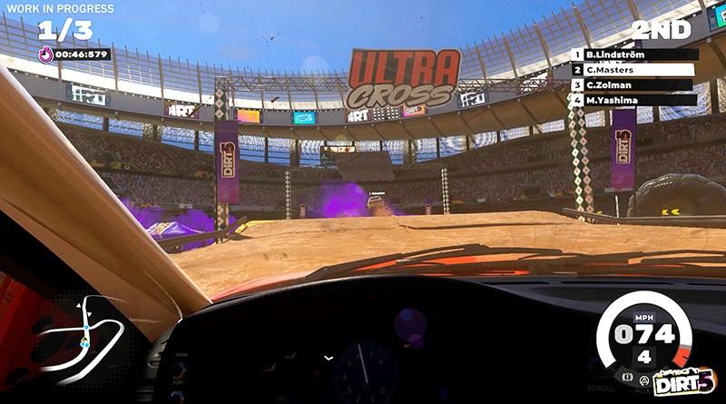 DiRT 5 Cape Town Stadium gameplay screenshot