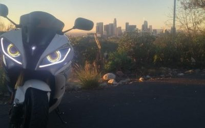 BKMOTO Headlights on 14 Yamaha R6