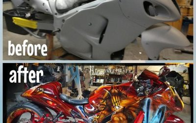 God of War on Suzuki Hayabusa by Uptown Grafx Custom Paint_7