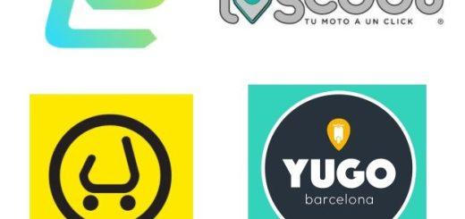 Servicios de scooters compartidas de Barcelona