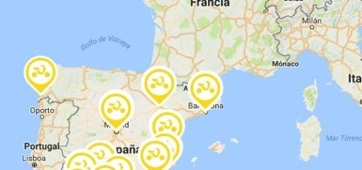 Mapa de ciudades Muving España
