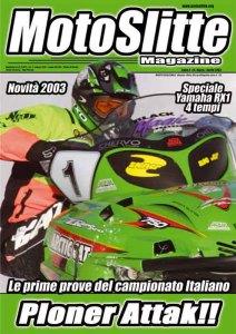 Motoslitte n° 6