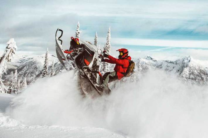 Ski-Doo Summit X 805 E-tec turbo