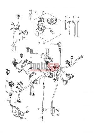 motoSP  SUZUKI  DL650 (E2) VStrom 2007  Electrical replacement parts