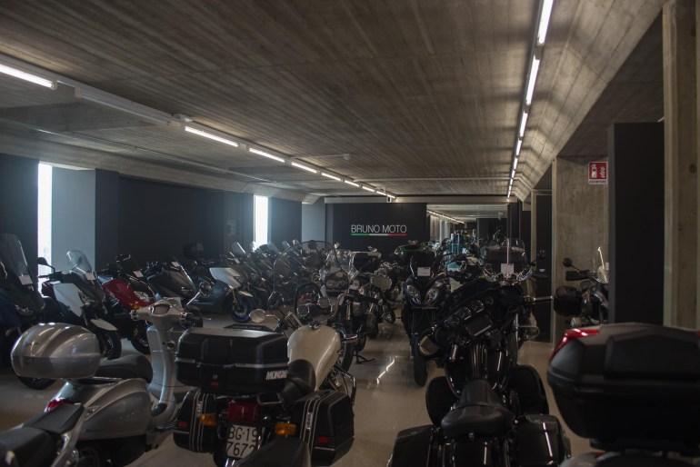 L'usato di Bruno Moto, diviso in aree tematiche e per brand