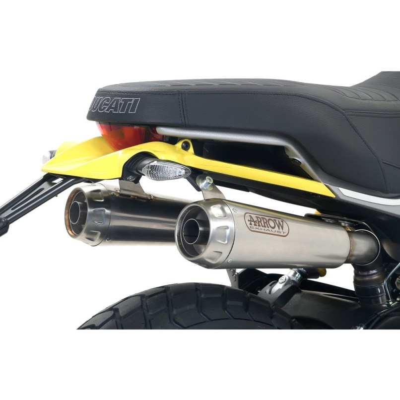 Titanium Ducati Scrambler