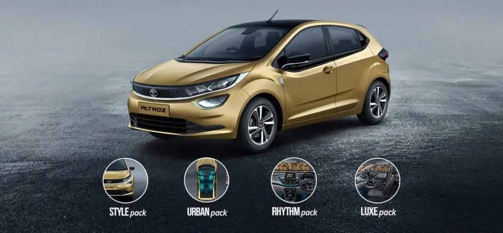 Tata Altroz Variant & Pack