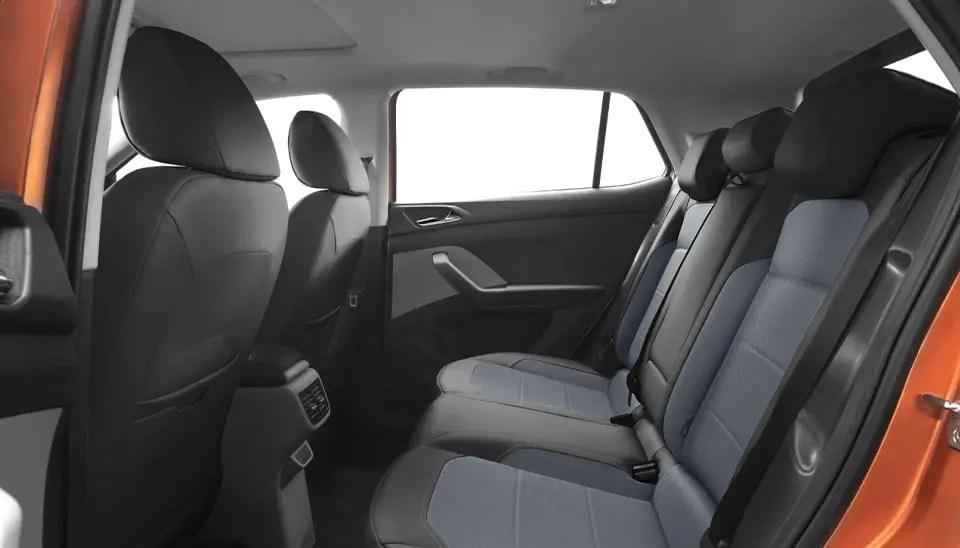 Skoda Kushaq backseat