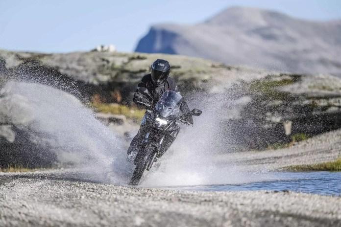 Honda CB500X off road