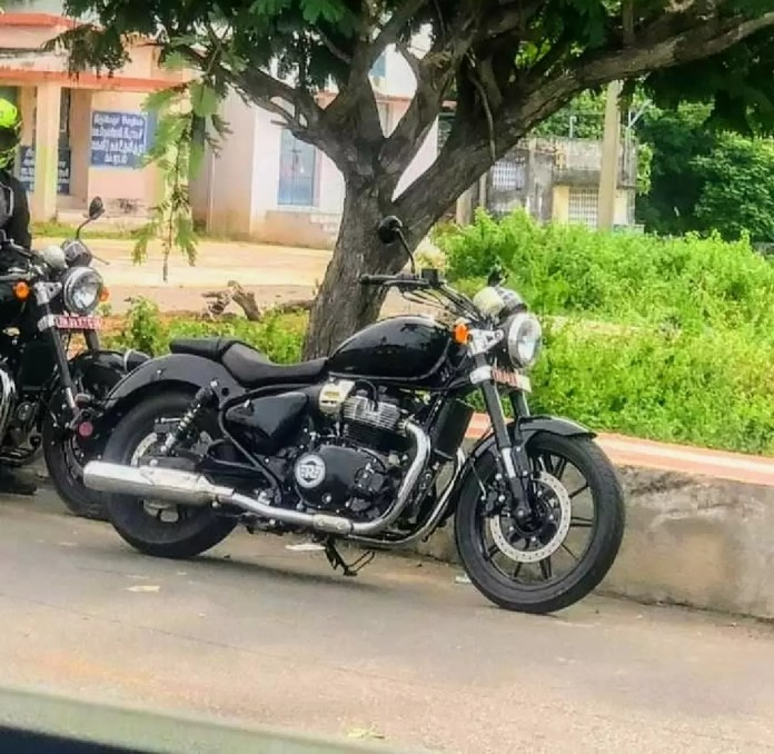 Royal Enfield Cruiser 650 Spy Images