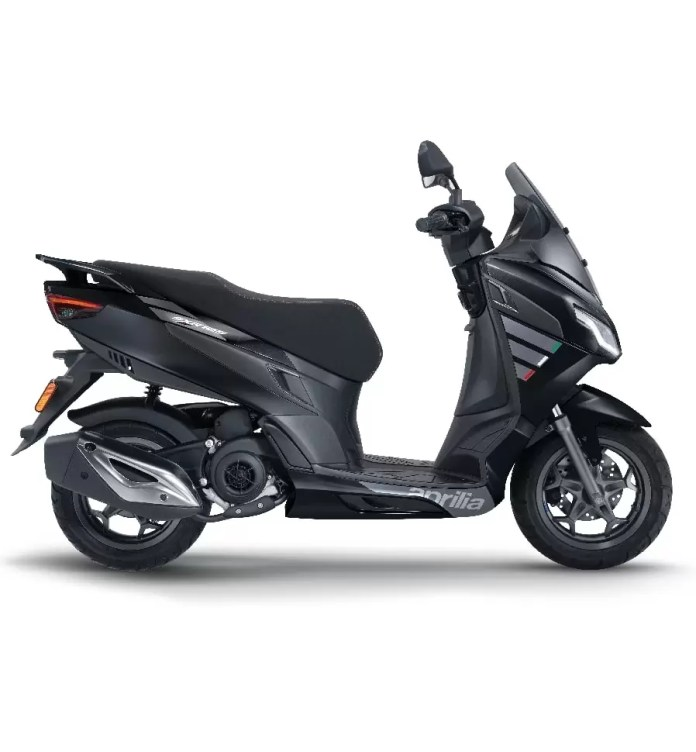Aprilia SXR 125 black color