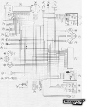 Kuva: Dt 07> sähkökaavio (Yamaha DT 50 SM)