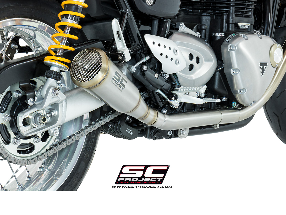 conic 70s style exhaust by sc project